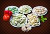 Homemade ravioli, fettuccini and gnocchi