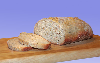 Seeded whole wheat artisan bread