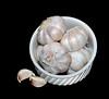 Garlic Bulbs in a Bowl