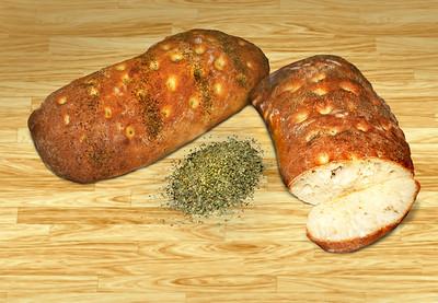 Homemade Chiabatta Artisan Bread
