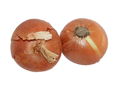 a pair of large, sweet Spanish onions
