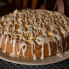 bourbon brown butter apple cake