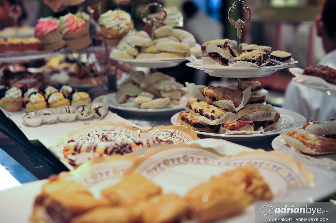 Here's a selection of the pastries in Santo Domingo's most famous dessert store, La Cuchara de Madera
