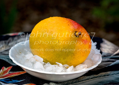 Mango on ice
