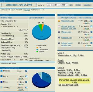 June 2008 - Food Consumption
