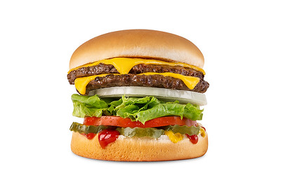 Baker's Drive-Thru: Classic Double Burger