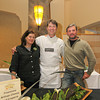 Cheesmaker, Alissa Shethar, Freestone Artisan Cheese and Creperie owner, Omar Mueller and Andrew Zlot, Owner of the buffalo owner at the 2013 California's Artisan Cheese Festival's Grand Cheese Tasting on March 23rd at the Sheraton Sonoma County.
