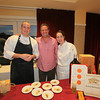 Risibisi's Excutive Chef, Brian West, Owner, Marco Palmieri and chef,  Jennifer Shea at the 2013 California's Artisan Cheese Festival's Grand Cheese Tasting on March 23rd at the Sheraton Sonoma County.