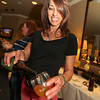 Lovely Lagunitas employee, Julie Longo, pours at the 2013 California's Artisan Cheese Festival's Grand Cheese Tasting on March 23rd at the Sheraton Sonoma County.