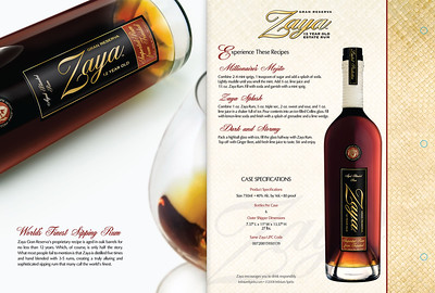 Maya Rum - Bottle Photography and Post Production