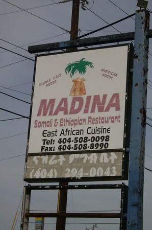 Madina--Somali food