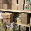 The Spanish American Center in Leomisnter had a stocked food pantry on Monday, March 16, 2020. SENTINEL & ENTERPRISE/JOHN LOVE