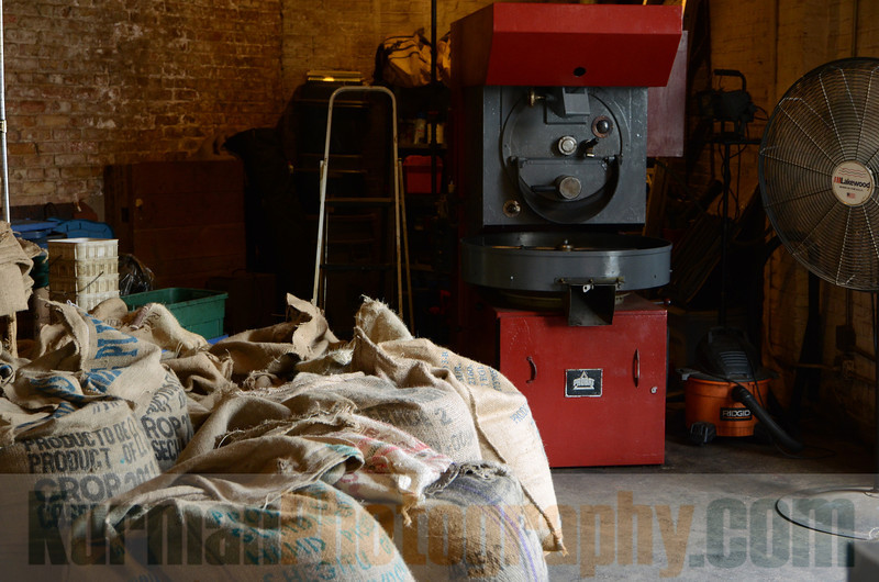 Coffee Roaster and Beans KCI_0176