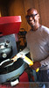 Greg Stivers with roast DSC00593