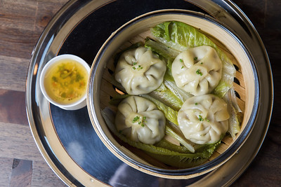 Asian Dumplings at China Pie