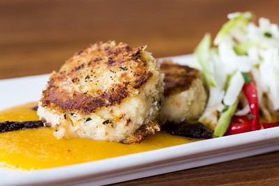 Crab Cakes at Elliott's Oyster House in Seattle, WA