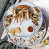 Fresh Seafood Tower at Elliott's Oyster House