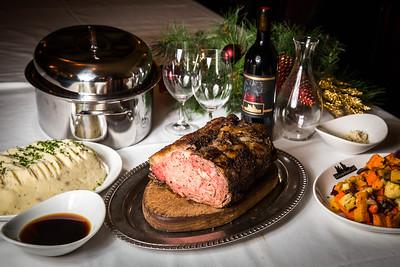 Holiday Rib Roast at Metropolitan Grill, Seattle