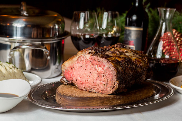 Holiday Rib Roast at Metropolitan Grill, Seattle