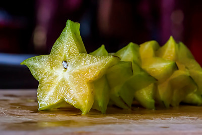 Dragonfruit and Starfruit