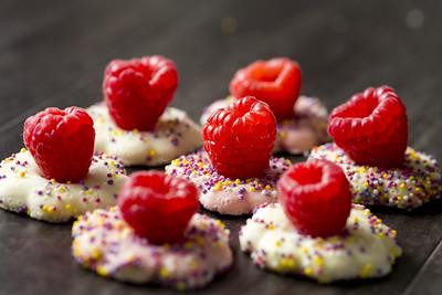 Raspberries and Cookies