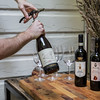 Wine Bottles at San Fermo Restaurant in Seattle