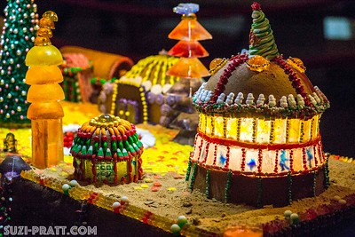Star Wars Gingerbread Houses at Sheraton Seattle