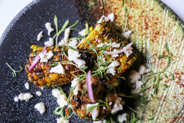 Roasted Corn at Dead Line in Seattle