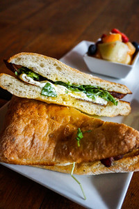 Egg Sandwich at Madison Kitchen