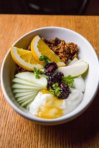 Yogurt at Saint Helens Brunch at Seattle, WA