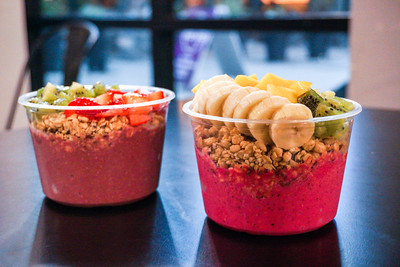 Açai Bowls at Verve Bowls in Capitol Hill
