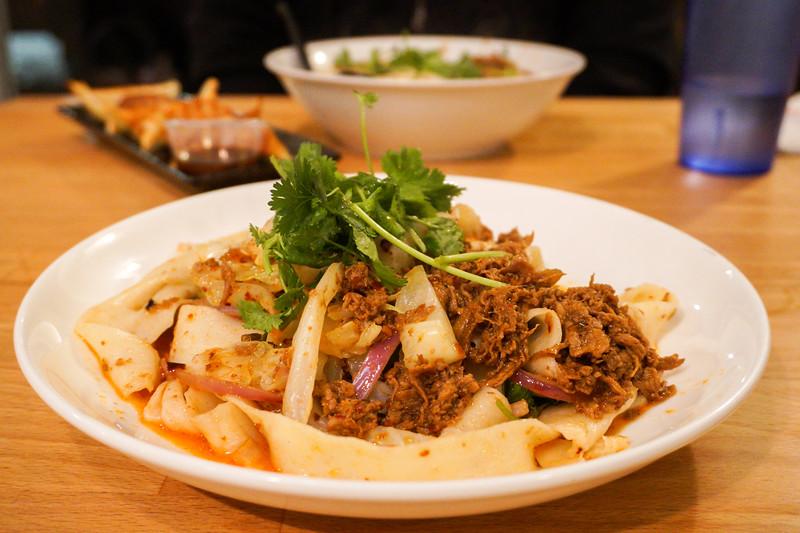 Xi'an Noodles in Seattle