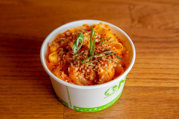 Kimchi Mac and Cheese at Bok a Bok