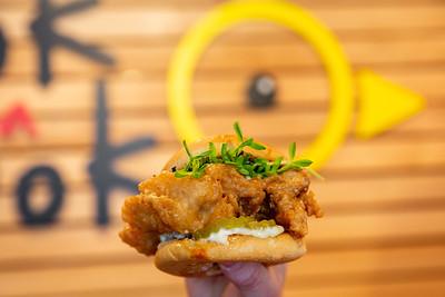 Sandwiches at Bok a Bok Fried Chicken