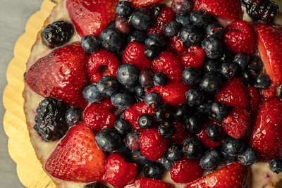 Fresh Fruit Tart Berry Dessert