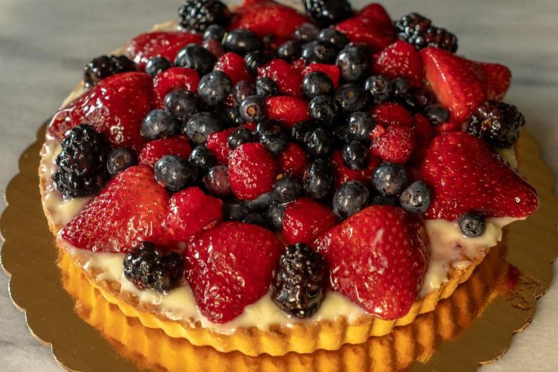 Fresh Fruit Tart Berry Dessert