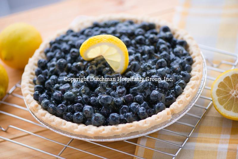 Fresh Blueberry Lemon Pie