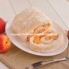 Fresh Peach Angel Food Roll