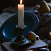 Fruit by candle light