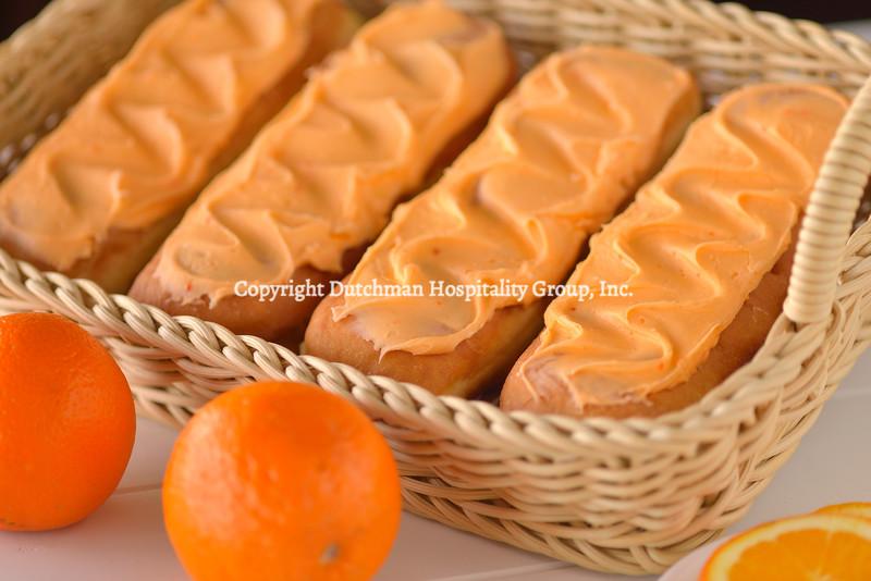 Orange Long Johns or Cream Sticks
