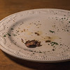 Almost empty plate