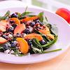Fresh Peach Blueberry Salad