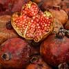 A split pomegranate