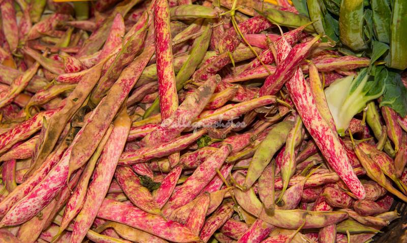 Beans, Rome, Campo dei Fiori farmers market