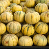 Piles of melons, Agra Street Market, India