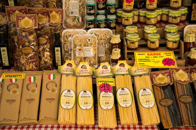 Varieties of pasta