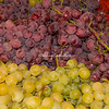 Green and purple grapes, Rome, Campo dei Fiori