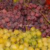 Green and purple grapes, Rome, Campo dei Fiori