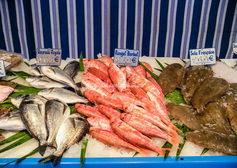 Fish stand, Paris Fish market