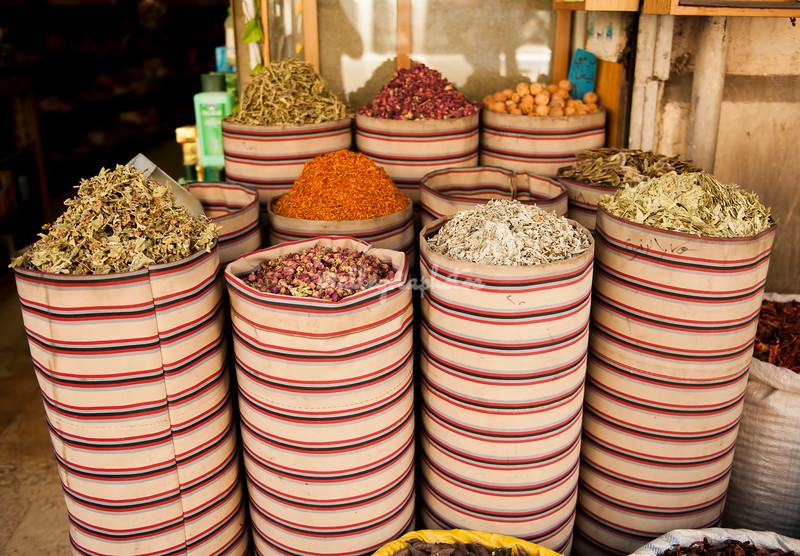 Bags of Spices, Amman, Jordan